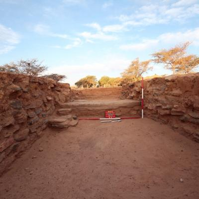 Weatern gate ,Meroitic site (Kitawab-Mahmiya)